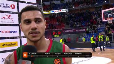 Post-Game Interview: Shane Larkin, Baskonia
