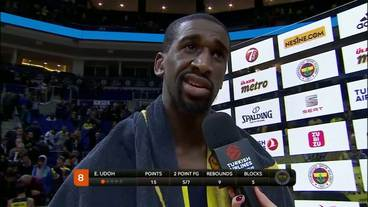 Post-Game Interview:Ekpe Udoh,Fenerbahce Istanbul