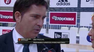 Post-Game Interview: Xavi Pascual, Panatinaikos Superfoods Athens