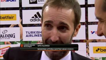 Post-Game Interview: Sito Alonso, Baskonia Vitoria Gasteiz