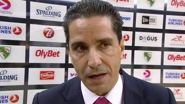 Post-Game Interview: Ioannis Sfairopoulos, Olympiacos Piraeus