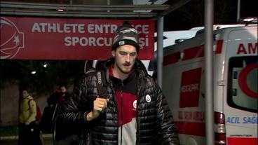 Galatasaray Odeabank Istanbul vs EA7 Emporio Armani Milan, Team Arrivals