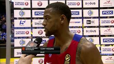 Post-Game Interview: Cory Higgins, CSKA Moscow