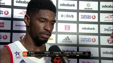 Post-Game Interview: Brandon Paul, Anadolu Efes Istanbul