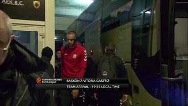 Teams'Arrivals: Baskonia Vitoria Gasteiz vs. Panathinaikos Athens