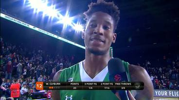 Post-Game Interview: Will Clyburn, Darussafaka Dogus Istanbul