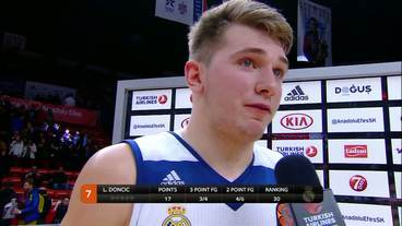 Post-Game Interview: Luka Doncic, Real Madrid