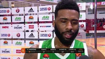 Post-Game Interview: Keith Langford, Unics Kazan