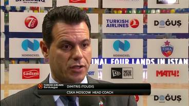 Post-Game Interview: Dimitris Itoudis, CSKA Moscow