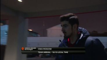 Teams'Arrivals: CSKA Moscow vs. Brose Bamberg