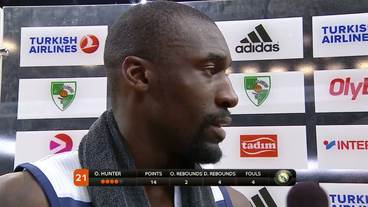 Post-Game Interview: Othello Hunter, Real Madrid