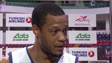 Post-Game Interview: Anthony Randolph, Real Madrid