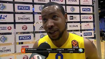 Post-Game Interview: Andrew Goudelock, Maccabi Fox Tel Aviv