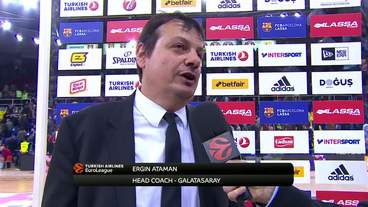 Post-Game Interview: Ergin Ataman, Galatasaray Odeabank Istanbul