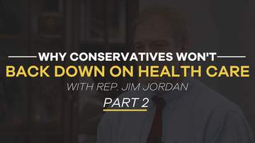 Rep. Jim Jordan | Why Did the Republican Healthcare Bill Fail? | Part 2