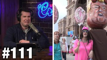 #111 CRASHING THE #WomensMarch! Karen Straughan Guests | Louder With Crowder