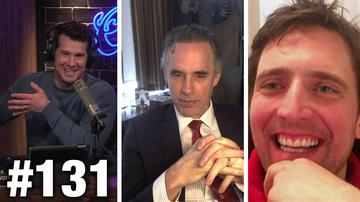 #131 Legal Vs. Illegal! Dr. Jordan B. Peterson and Owen Benjamin Guest | Louder With Crowder