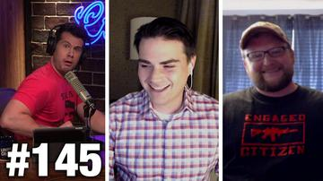 #145 PENCE TRIGGERS FEMINISTS!! Ben Shapiro and IraqVeteran8888 Guest | Louder With Crowder