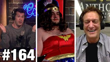 #164 FEMINISTS VS. WONDER WOMAN! Anthony Cumia Guests | Louder With Crowder
