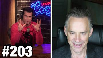 #203 CROWDER'S LIVE PERSONALITY TEST! (Jordan Peterson Uncut) | Louder With Crowder