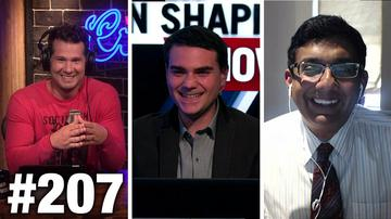 #207 BYE BYE AFFIRMATIVE ACTION! Ben Shapiro Dishes on Cenk Uygur | Louder With Crowder