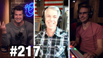 #217 JOHN OLIVER NOW HATES NUCLEAR POWER! LOL David Barton Guests | Louder With Crowder