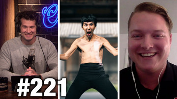 #221 BRUCE LEE STINKS! Brandon Jones Guests | Louder With Crowder