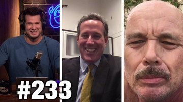 #233 VOX HATES FREE SPEECH! Rick Santorum, Clint Howard and Ann McElhinney | Louder With Crowder