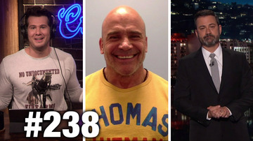 #238 JIMMY KIMMEL'S GUN CONTROL FALLACIES! Bas Rutten Guests | Louder With Crowder