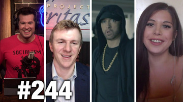 #244 CALIFORNIA SUCKS! James O'Keefe and Blaire White Guest | Louder With Crowder