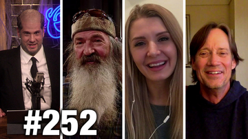 #252 DNC TRUMP DOSSIER BACKFIRE! Lauren Southern, Phil Robertson and Kevin Sorbo Guest | Louder With Crowder