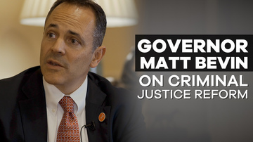 Governor Matt Bevin | America Believes in Second Chances