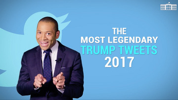 Most legendary Trump tweets of 2017 | White House Brief