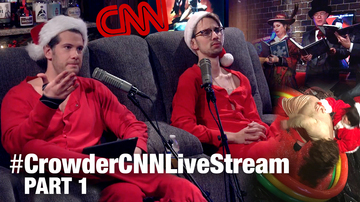 Crowder's 16-Hour CNN Torture Livestream! (Part 1) | Louder With Crowder