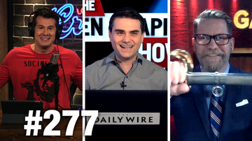 #277 THE JIHADI BOND & TRANNY BANE FINALE! Ben Shapiro and Gavin McInnes Guest | Louder With Crowder