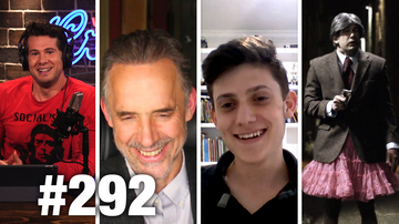 #292 TRUMP WANTS YOUR GUNS?! Jordan Peterson and Kyle Kashuv | Louder With Crowder