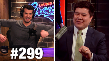 #299 OMG CROWDER BANNED FROM TWITTER! Bill Richmond Guests | Louder With Crowder