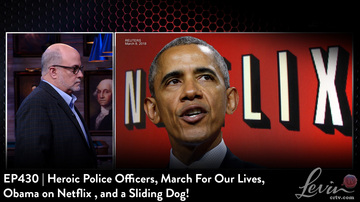 EP430 | Heroic Police Officers, March for Our Lives, Obama on Netflix, and a Sliding Dog!