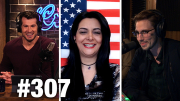 #307 EVERYTHING WRONG WITH DAVID HOGG! Anni Cyrus Guests | Louder With Crowder
