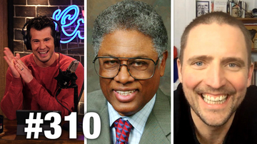 #310 YOUTUBE SHOOTER MEDIA FAIL! Thomas Sowell and Owen Benjamin Guest | Louder With Crowder