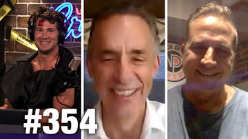 Ep 354 | TRUMP POLLS VS. MEDIA MELTDOWN! | Jordan Peterson and Nick DiPaolo Guest | LWC