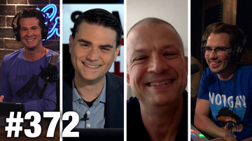 Ep 372 | A VERY NOTGAYJARED FAREWELL! | Ben Shapiro and Jim Norton Guest | Louder With Crowder