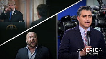 Ep 57 | Crybaby Acosta & a Crazed Trump Hater | America with Eric Bolling