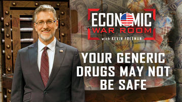 Ep 6 | Warning: China's Control of Generic Drugs Could Threaten Your Life! | Economic War Room