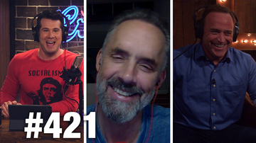 Ep 421 | CROWDER'S COLOSSAL COMEBACK! | Matt Iseman , Jordan Peterson | Louder With Crowder