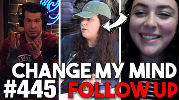 Ep 445 | 'CHANGE MY MIND' FOLLOW-UP: Pro-Choice Student Returns | Louder with Crowder