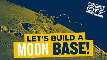 Ep 98 | I Want to Build a Moon Base | Guest: Robert Zubrin | Something's Off with Andrew Heaton