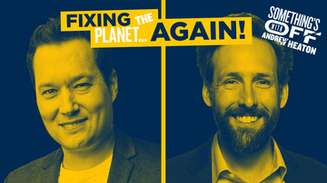 Ep 107 | Conservatives on Climate Change | Guest: Stu Burguiere | Something's Off with Andrew Heaton
