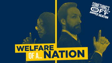 Ep 111 | Good Fare, Bad Fare, We All Scream for Welfare | Guest: Deanna Easley | Something's Off with Andrew Heaton