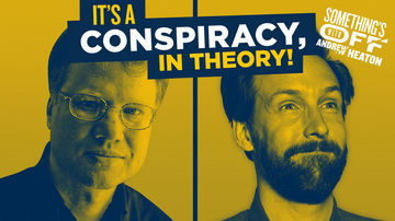 Ep 114 | Why Do We Love Conspiracy Theories? | Guest: Jesse Walker | Something's Off with Andrew Heaton